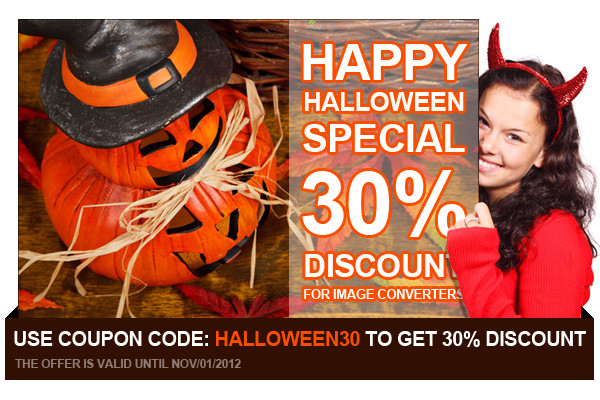 Happy Halloween Special Discount